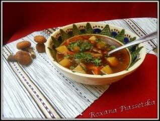 Soupe aux cèpes séchés – Юшка грибна