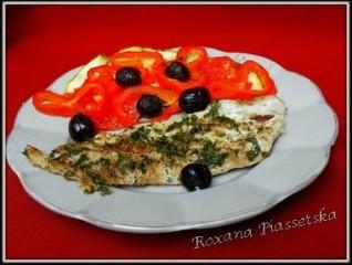Filet de poisson aux légumes – Риба з овочами