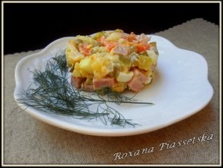 Salade russe – Салат «Олівіє»