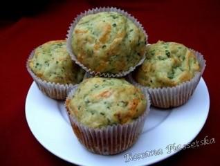 Muffins aux épinards et au fromage – Кекси з шпинатом і сиром