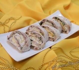 Roulés de tortillas au thon – Tortillas de atún