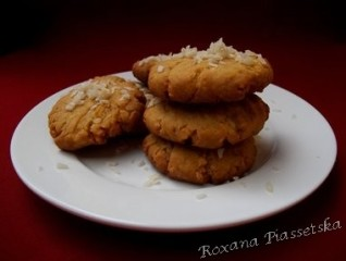 Sablés coco-gingembre – Galletas de coco y jengibre