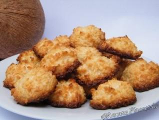 Macarons au coco et zestes de citron – Macarons de coco y limon