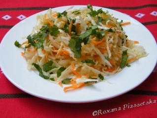 Salade costaricienne de choux blanc – Ensalada de repollo