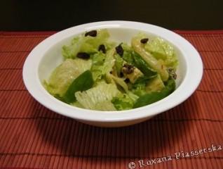 Salade verte et épinard – Ensalada de lechuga y espinaca