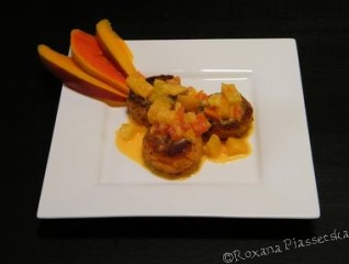 Croquettes de poisson en sauce créole – Pescado salsa Caribe