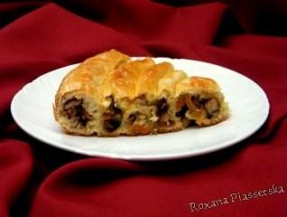 Tourte «Escargot» – Кільцевий пиріг з м'ясом і грибами