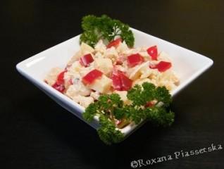 Salade de poulet à l'ananas – Салат з курки i ананасами