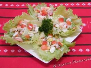 Salade de choux chinois – Салат з пекінської капусти