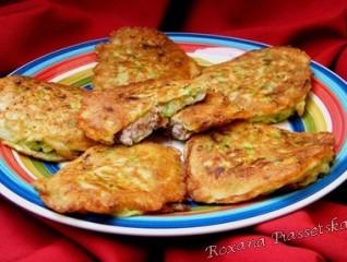 Galettes de courgettes à la viande – Кабачкові оладьї з фаршем