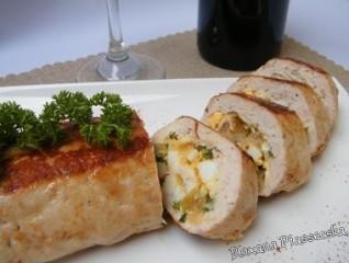 Roulé de poulet fouré – Kуриные колбаски