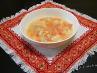Soupe de riz à la tomate – Суп з рисом і помідорами