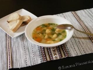Soupe ukrainienne – Суп з кльоцками