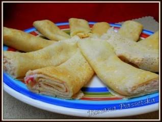 Crêpes au fromage blanc et fraises – Млинці з сиром та полуницями