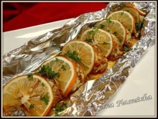Papillote de maquereau au citron – Скумбрія запечена з лимоном