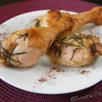 Cuisses de poulet au romarin – Курячі ніжки з розмарином