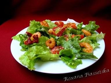 entr e facile russes recettes recette rapide originale salade crevettes slave. Black Bedroom Furniture Sets. Home Design Ideas