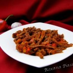 Boeuf costaricien en sauce tomate – Carne mechada