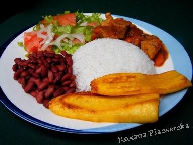 Viande porc cuisine cuisiner recettes costaricienne latine - Cuisiner banane plantain ...