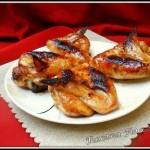 Ailes de poulet miel-soja