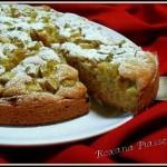 Gâteau à la rhubarbe-Ciasto z rabarbarem