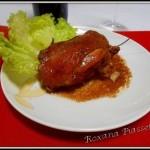 Poulet en sauce aigre (poulet adobo, Philippines)