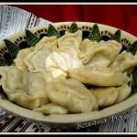 Varènékés-raviolis aux pommes de terre et champignon– Вареники