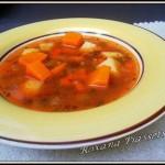 Soupe de citrouille et haricots rouges-Суп з гарбузом і квасолею