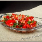 Salade de tomates costaricienne – Pico de Gallo