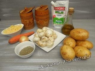 Cuisine champignons pommes de terre facile rapide slave for Cuisine ukrainienne