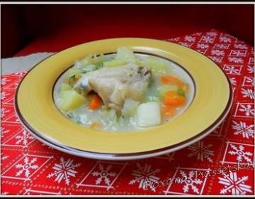 Soupe de légumes au poulet – Овочевий суп