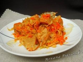 Chou blanc à la viande – Капуста тушкована з м'ясом