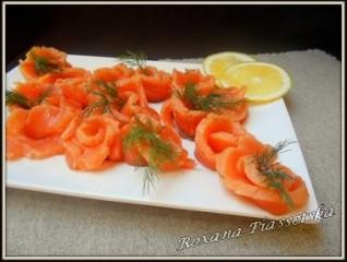 Saumon salé- Сьомга cлабосольона