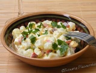 Salade de christophines – Ensalada de chayote