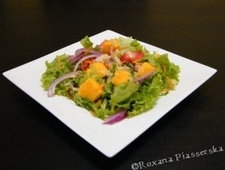 Salade verte de mangue – Ensalada con mango