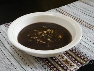 Soupe noire – Sopa negra
