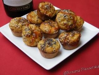 Minis muffins à la citrouille – Тыквенные мафины