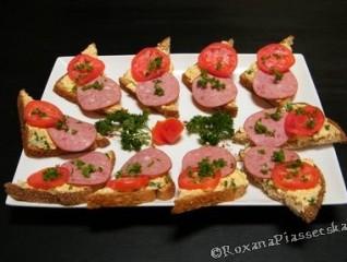 Canapés au fromage de brebis – Канапки з овечим сиром