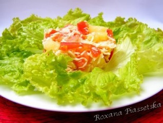 Salade «Coco Chanel» – Салат «Коко Шанель»
