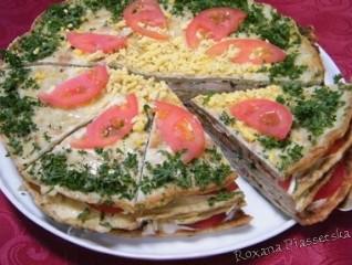Tarte de courgettes – Кабачковий торт