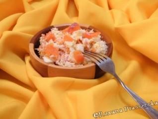 Salade de riz au truite fumée – Салат з рисом і копченою рибою