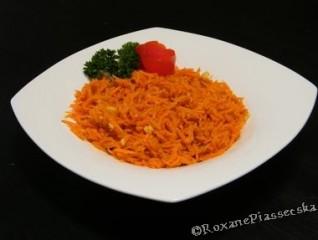 Salade ukrainiene de carotte râpée – Салат з моркви