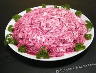 """Salade """"Chouba"""" – Салат """"Шуба"""""""