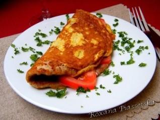 Omelette à la viande – Бризоль