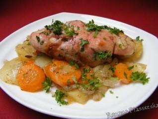 Cuisses de poulet aux légumes – Курячі стегна запечені з овочами