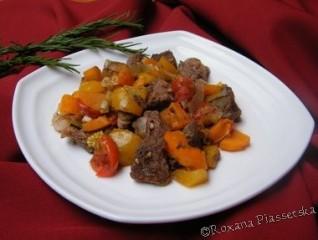 Ragoût de boeuf à l'Ukrainienne – М'ясо з овочами