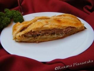 Tourte à l'Ukrainienne – Пиріг з м'ясом