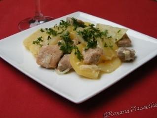 Pommes de terre au porc à l'ukrainienne – Печеня по-полтавськи