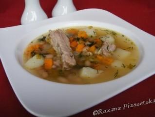 Soupe aux haricots blancs – Суп з білою квасолею