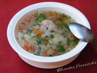 Soupe au choux russe – Куриные щи